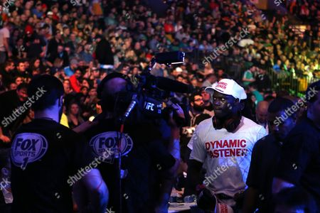 Uriah Hall Uriah Hall walks back to his dressing room after a win against Ron Stallings in their fight at UFC Fight Night Boston, in Boston. Hall won via first round TKO