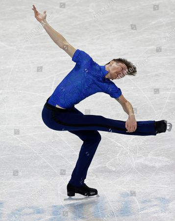 Stock Photo of Jeremy Abbott Jeremy Abbott performs during the men's short program at the U.S. Figure Skating Championships in Greensboro, N.C