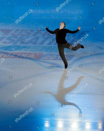 Jeremy Abbott Jeremy Abbott performs during an exhibition after the U.S. Figure Skating Championships in Greensboro, N.C