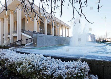 Editorial image of Winter Weather, Jackson, USA