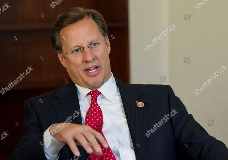 """Dave Brat Nov. 18, 2014, freshman Rep. Dave Brat, R-Va., the economics professor who toppled former House Majority Leader Eric Cantor in the June GOP primary, in interviewed by The Associated press in his office on Capitol Hill in Washington, . Five months after his upset of Cantor, Brat comes across as down-to-earth and says his constituents have warned him not to let Washington change him. """"Everyone just says, 'Dave, keep being yourself,'"""" Brat said in an interview in his sparsely decorated office this week. """"'You better not change. You better keep being Dave"""