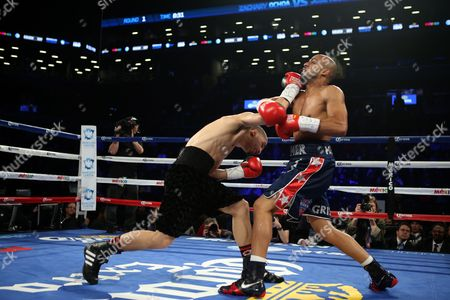 Zachary Ochoa, Jose Miguel Castro Zachary Ochoa, left, in action against Jose Miguel Castro during their fight at the Barclay's Center in Brooklyn, N.Y. on . Ochoa won via decision