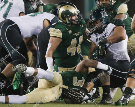 Editorial photo of Hawaii Colorado St Football, Fort Collins, USA