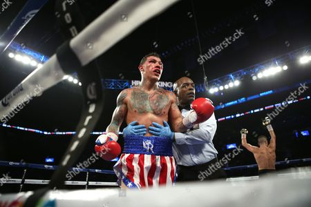 Gabriel Rosado, David Lemieux A battered Gabriel Rosado is seen against David Lemieux during their middleweight fight at the Barclay's Center in Brooklyn, NY on . Lemieux won via 10th round TKO