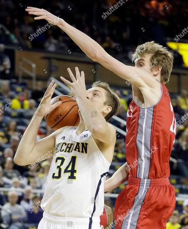 Editorial image of Nicholls St Michigan Basketball, Ann Arbor, USA