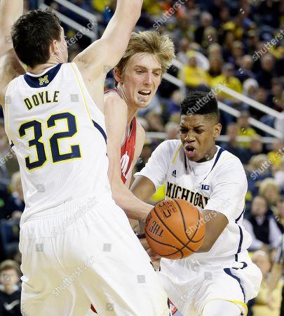 Editorial photo of Nicholls St Michigan Basketball, Ann Arbor, USA