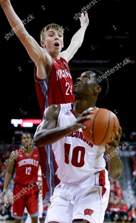 Editorial picture of Nicholls St Wisconsin Basketball, Madison, USA