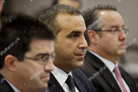 Sam Nazarian Sam Nazarian, center, attends a meeting of the Nevada Gaming Commission, in Las Vegas. Nazarian, a 10 percent owner of the SLS Las Vegas hotel and casino, appears before the commission seeking a gaming license