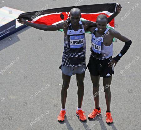 Editorial picture of NYC Marathon, New York, USA