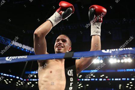 Zachary Ochoa Zachary Ochoa celebrates a win against Jose Miguel Castro during their fight at the Barclay's Center in Brooklyn, NY on . Ochoa won via decision