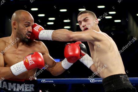 Zachary Ochoa, Jose Miguel Castro Zachary Ochoa, right, in action against Jose Miguel Castro during their fight at the Barclay's Center in Brooklyn, NY on . Ochoa won via decision