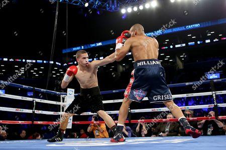 Zachary Ochoa, Jose Miguel Castro Zachary Ochoa, left, in action against Jose Miguel Castro during their fight at the Barclay's Center in Brooklyn, NY on . Ochoa won via decision