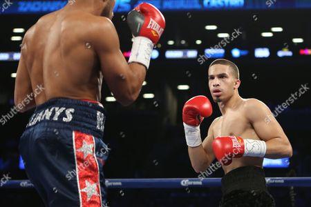 Zachary Ochoa Zachary Ochoa, right, in action against Jose Miguel Castro during their fight at the Barclay's Center in Brooklyn, NY on . Ochoa won via decision