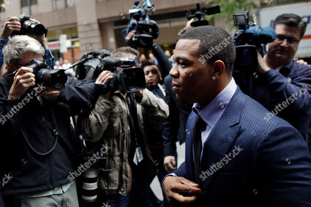 Ray Rice Ray Rice arrives for an appeal hearing of his indefinite suspension from the NFL, in New York