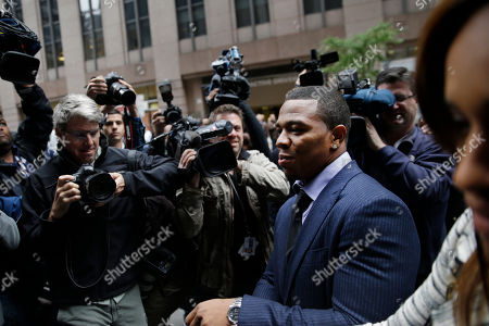 Ray Rice, Janay Palmer Ray Rice arrives with his wife Janay Palmer for an appeal hearing of his indefinite suspension from the NFL, in New York