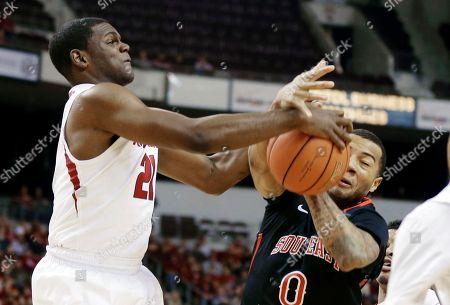 Editorial picture of SE Missouri Arkansas Basketball, North Little Rock, USA