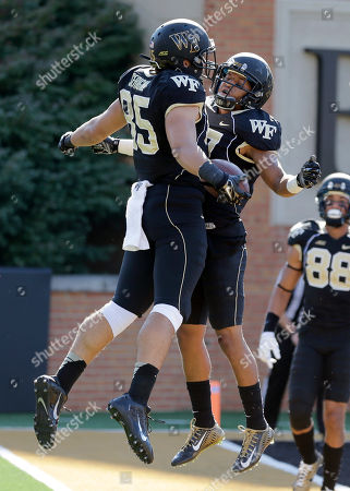 Editorial picture of Army Wake Forest Football, Winston-Salem, USA