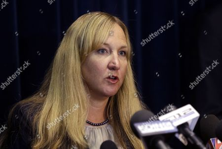 Amanda Marshall In this photo, U.S. Attorney for Oregon Amanda Marshall speaks in Portland, Ore. The Oregon State Bar is investigating Marshall, who resigned last year amid rumors she had an affair with an assistant U.S. attorney and harassed him when the relationship ended, on allegations of misconduct