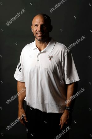 Stock Picture of Jason Kidd Milwaukee Bucks head coach Jason Kidd poses for a picture during the team's media day, in St. Francis, Wis