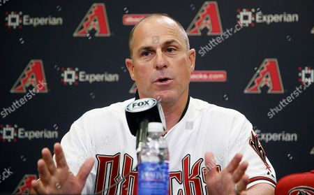 Chip Hale New Arizona Diamondbacks baseball team manager Chip Hale talks about managing the club during a news conference, in Phoenix. The former Diamondbacks third base coach was hired Monday to replace fired Kirk Gibson as the Diamondbacks manager. The 49-year-old managed in Arizona's minor league system for six seasons and was with the Diamondbacks from 2007-09 in the first of eight consecutive seasons as a big league third base coach