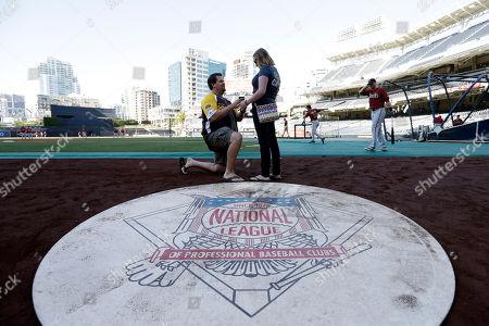 Editorial photo of Diamondbacks Padres Baseball, San Diego, USA