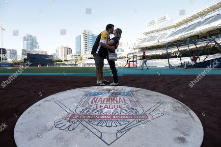 Editorial picture of Diamondbacks Padres Baseball, San Diego, USA