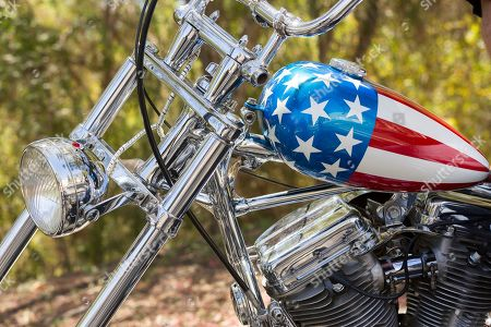 Editorial photo of Easy Rider Bike Auction, Calabasas, USA