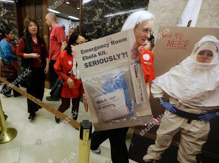 Editorial image of Ebola California, Sacramento, USA