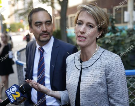 Zephyr Teachout, Tim Wu Zephyr Teachout, a Democratic gubernatorial candidate, right, speaks to the media while Tim Wu, a Democratic lieutenant gubernatorial candidate, listens before Wu voted in New York, . New York Gov. Andrew Cuomo faces a challenge in his bid for a second term in the Democratic primary as he seeks to dispatch liberal activist Teachout. Also on the ballot is Columbia University law professor Tim Wu, Teachout's choice for lieutenant governor