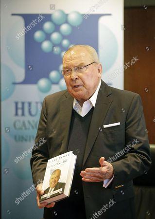 Editorial image of Jon Huntsman Sr. Autobiography, Salt Lake City, USA