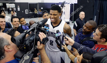 Rudy Gay Sacramento Kings forward Rudy Gay grins into a camera as he talks with reporters during the Kings basketball media day in Sacramento, Calif