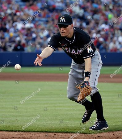 Jeff Baker Miami Marlins' Jeff Baker plays in the fifth inning of a baseball game against the Atlanta Braves, in Atlanta