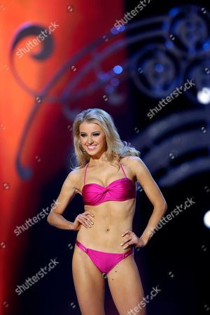 Acacia Courtney Miss Connecticut Acacia Courtney participates in the Miss America 2015 pageant, in Atlantic City, N.J