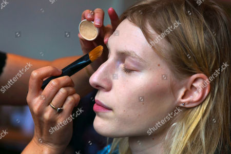 Julia Nobis Julia Nobis, 22, of Sydney, Australia, has her make-up applied backstage before modeling at the Jason Wu Spring 2015 collection show, during Fashion Week in New York. Nobis has walked runways in both the spring and fall Fashion Weeks in New York since she started modeling at age 17. She says she was discovered in a Sydney train station when she was 15