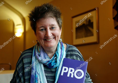 """Katha Pollitt Katha Pollitt, author of """"Pro: Reclaiming Abortion Rights,"""" poses for a photo while on tour for the book in Seattle"""