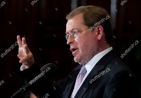 Grover Norquist Anti-tax activist Grover Norquist, speaks at the National Press Club, in Washington