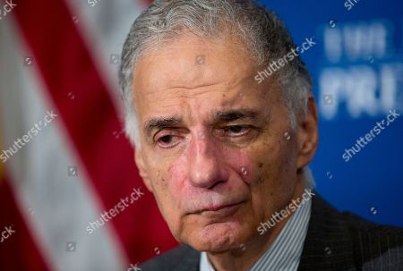 Ralph Nader Consumer advocate Ralph Nader listens to questions during a luncheon forum at the National Press Club, in Washington