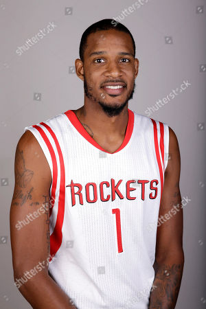Stock Picture of Trevor Ariza Houston Rockets' Trevor Ariza poses during media day, in Houston