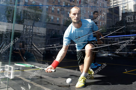Editorial image of Squash Championships, San Francisco, USA