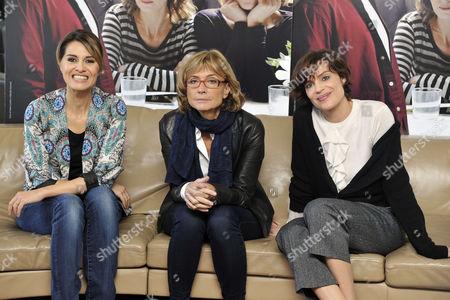 Cristina Comencini, Paola Cortellesi and Micaela Ramazzotti