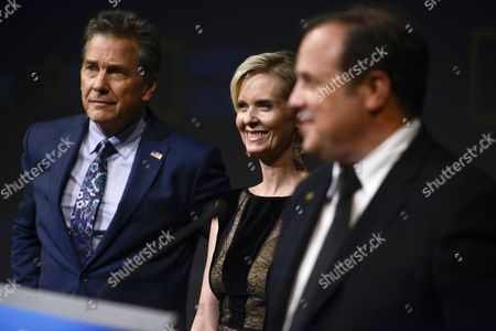 Stock Picture of Tim Matheson, Cynthia Nixon and Rod Lurie