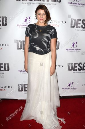 Editorial image of 'Deserted' film premiere, Los Angeles, USA - 06 Oct 2016