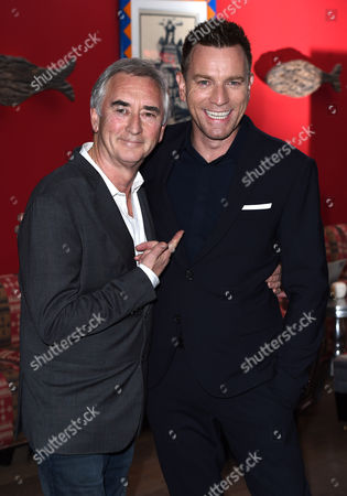 Stock Picture of Ewan McGregor and his uncle Dennis Lawson