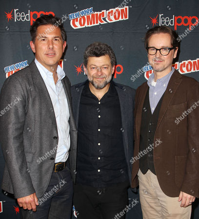 Dylan Clark (Producer), Andy Serkis and Matt Reeves (Director)