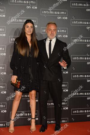 Giorgia Gabriele and Gianluca Vacchi