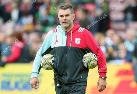 Harlequins' Coach Nick Easter
