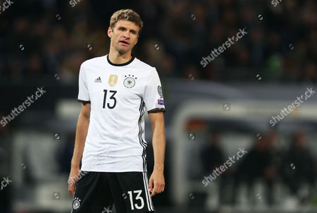 8bea923e1 Thomas Muller Germany during FIFA World Cup Editorial Stock Photo - Stock  Image