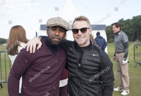 DJ Spoony and Ronan Keating at Kingsbarns