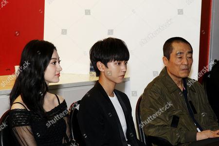 Jing Tian, Wang Junkai, Zhang Yimou (Director)