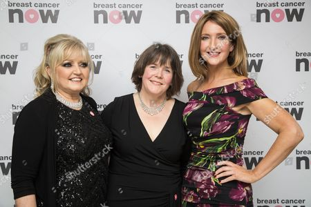 Stock Picture of Linda Nolan, Baroness Delyth Morgan and Victoria Derbyshire